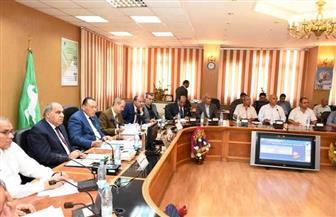 المجلس التنفيذي بالشرقية يستعرض الخطة الموحدة للعام المالي 2019-2020