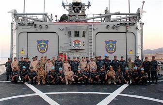 """أنشطة مكثفة للتدريب البحري المصري الأمريكي المشترك """"تحية النسر - استجابة النسر 2019"""""""