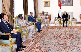 تفاصيل لقاء الرئيس السيسي مع نائب رئيس المجلس العسكري الانتقالي السوداني | فيديو
