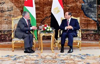 تفاصيل جلسة المباحثات بين الرئيس السيسي والعاهل الأردني بالقاهرة   فيديو وصور