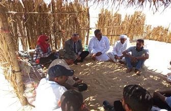 تكليف لجنة من مجلس مدينة الشيخ زويد لتفقد أحوال الوافدين بمدينة بئر العبد
