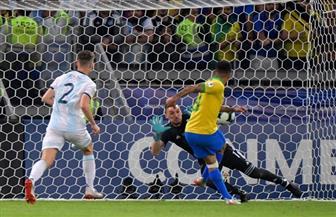 البرازيل تتقدم على الأرجنتين بهدف في الشوط الأول بنصف نهائي كوبا أمريكا