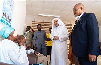 أمين عام رابطة العالم الإسلامي يدشن حزمة من المشاريع الصحية والتعليمية في غانا |صور