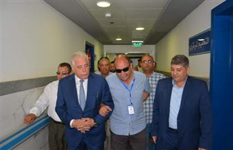 محافظ جنوب سيناء ورئيس جامعة المنصورة يتفقدان سير عمل قافلة طبية بمستشفي أبورديس| صور