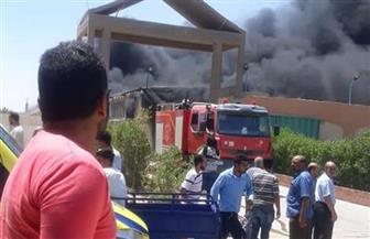 مصرع عامل وإصابة 7 آخرين إثر نشوب حريق داخل مصنع في أكتوبر