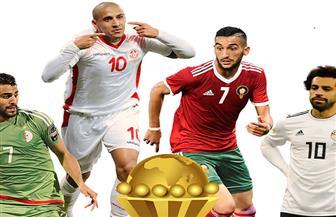 تعرف على بطولات وإنجازات المنتخبات المتأهلة لدور الـ16 بأمم إفريقيا