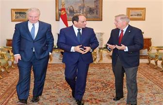 الرئيس السيسي: تسوية القضية الفلسطينية ستغير الواقع الحالي بالمنطقة وتفتح آفاقا لمرحلة جديدة من الأمن