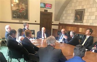 مصطفى الفقي: نواجه الإرهاب وحدنا.. ولا يجب أن تسمح بريطانيا بالتحريض ضد مصر | صور