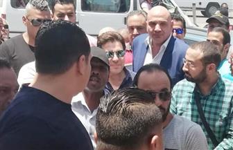وصول هاني شاكر إلى مقر انتخابات نقابة الموسيقيين