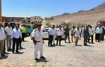 رئيس مدينة سفاجا يقود حملة لإزالة التعديات على أراضي الدولة| صور