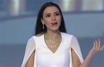 """كارمن سليمان تغني """"نورتوا الدنيا"""" في افتتاح المؤتمر الوطني للشباب   فيديو"""