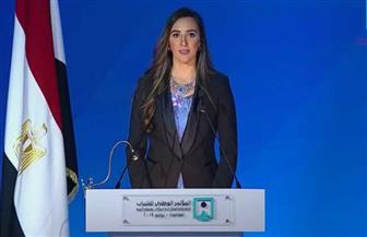 بطلة مصر وإفريقيا في الريشة الطائرة تستعرض قصة نجاحها أمام مؤتمر الشباب | فيديو