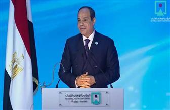 الرئيس السيسي يطلق مؤتمر الشباب في دورته السابعة بالعاصمة الإدارية