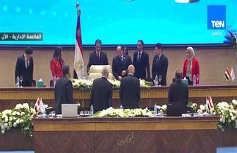 انطلاق نموذج محاكاة الدولة المصرية بمؤتمر الشباب بمشاركة الرئيس السيسي