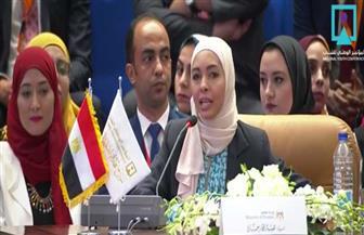 """وزيرة المالية في نموذج """"محاكاة الدولة المصرية"""" تستعرض ملف الإصلاح الاقتصادي والموازنة العامة أمام الرئيس"""