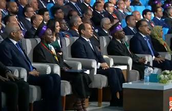 الرئيس السيسي يشهد تخرج الدفعة الأولى من البرنامج الرئاسي لتأهيل الشباب الإفريقي