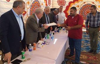محافظ جنوب سيناء يشهد تسليم الوحدات السكنية بديلة العشوائيات في الرويسات