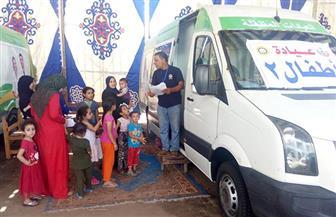 صحة الدقهلية: الكشف على 1413 مريضا خلال قافلة طبية بقرية السعودية | صور