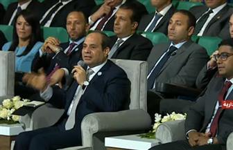 الرئيس السيسي: هناك 4500 قرية و28 ألف تابع لها بحاجة للتدخل والتطوير