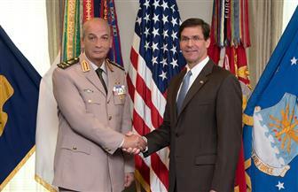 وزير الدفاع يعود إلى أرض الوطن بعد زيارة رسمية إلى أمريكا| صور