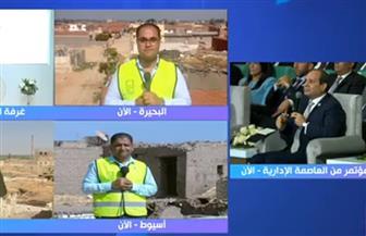 """الرئيس السيسي يشهد فيلما تسجيليا عن مبادرة """"حياة كريمة"""""""