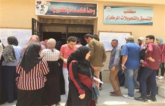 إقبال كثيف بمكتب التنسيق في جامعة المنصورة خلال أول أيام المرحلة الثانية | صور