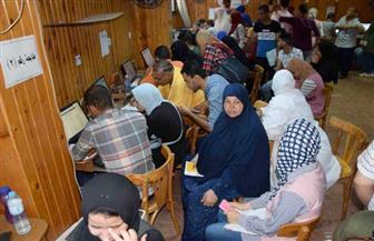مكتب تنسيق جامعة المنصورة يستقبل 1276 طالبًا في أول أيام المرحلة الثانية