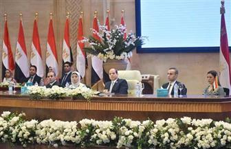 """الرئيس السيسي يشهد جلسة """"مبادرة التحول الرقمي"""" في إطار فعاليات مؤتمر الشباب"""