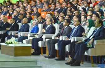 """الرئيس السيسي يشهد جلسة مبادرة """"حياة كريمة"""" ضمن فعاليات المؤتمر السابع للشباب"""