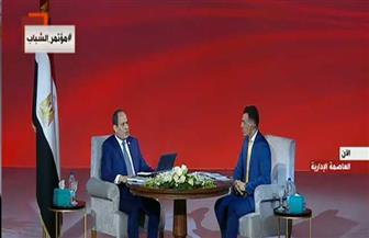 الرئيس السيسي: الإعلام عليه دور كبير لتوضيح الجهود المبذولة فى عملية الإصلاح