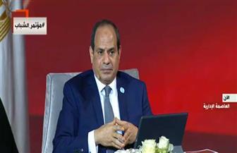 الرئيس السيسي: عودة الجمهور للملاعب متروكة للأجهزة المعنية.. ولن نستعين بمدربين أجانب للمنتخب