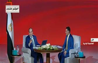 الرئيس السيسي: نحتاج لرفع كفاءة 55 ألف مدرسة فى إطار تطوير منظومة التعليم
