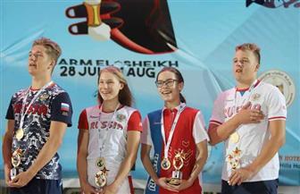 منتخب روسيا يواصل تفوقه في اليوم الثانى لبطولة العالم للسباحة بالزعانف بـ11 ميدالية | صور