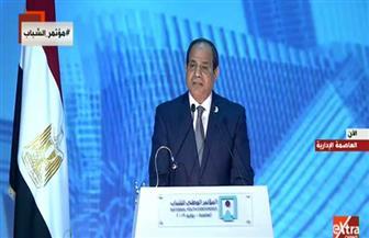 الرئيس السيسي: نحن أمة لن ترضى بغير المجد بديلا.. والمواطن المصري هو البطل الحقيقي في معركة البقاء والبناء