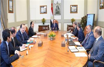 الرئيس السيسي يجتمع مع مدبولي ووزراء التموين والداخلية والاتصالات| فيديو