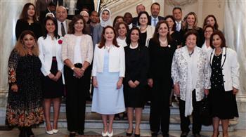 ماريا فرناندا: نحلم بوجود دول كثيرة على مستوى العالم تدافع عن حقوق المرأة مثل مصر | صور