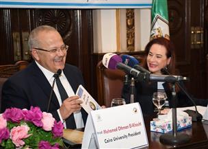 الخشت: جامعة القاهرة هي أول جامعة مدنية في مصر والوطن العربي.. وقامت على فكرة التنوع والتعددية | صور