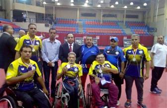 5 ميداليات لفريق القناطر الخيرية لمتحدي الإعاقة في بطولة إفريقيا