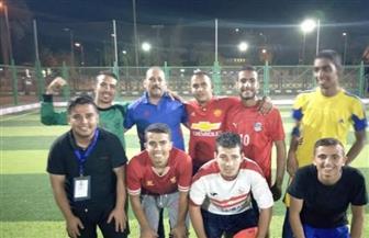 جامعة أسيوط تفوز بالمركز الثالث في بطولة كرة القدم بمعسكر إعداد القادة بحلوان