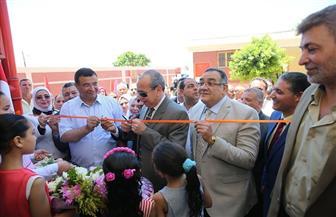 محافظ كفرالشيخ يفتتح مدرسة أبوعمر للتعليم الأساسي الجديدة بتكلفة 2.6 مليون جنيه |صور