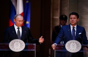 بوتين: نأمل أن تتخذ إيطاليا موقفا لصالح إعادة العلاقات بين الاتحاد الأوروبي وروسيا
