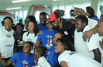استقبال حافل لمنتخب ناميبيا رغم وداعه المبكر لأمم أفريقيا
