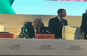 تفاصيل ترؤس وزير الخارجية اجتماعات اليوم الأول للمجلس التنفيذي للاتحاد الإفريقي
