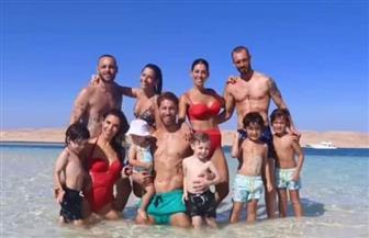 سيرجيو راموس ينشر صوره مع عائلته داخل إحدى الجزر البحرية في الغردقة |صور