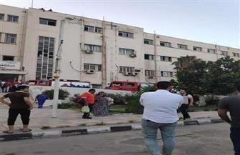 """""""طب الإسكندرية"""": إصابة مريضة وطبيبة في حريق مستشفى الشاطبي"""