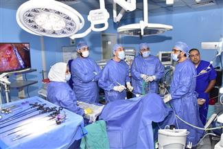 """""""الكبد المصري"""" تجري الكشف على 3869 حالة و63 عملية جراحية في سبتمبر الماضي.. مجانا"""