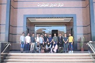 وفد طلابي عربي يزور جامعة سوهاج
