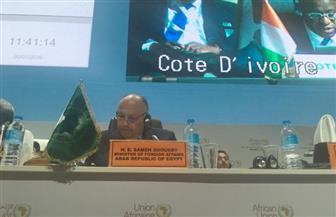 وزير الخارجية يترأس اجتماعات اليوم الثاني للمجلس التنفيذي للاتحاد الإفريقي