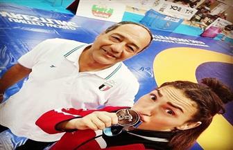 سمر حمزة تحصد برونزية الجائزة الكبرى