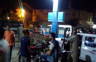 محافظ المنوفية: تشديد الرقابة على مواقف السيارات ومحطات الوقود | صور